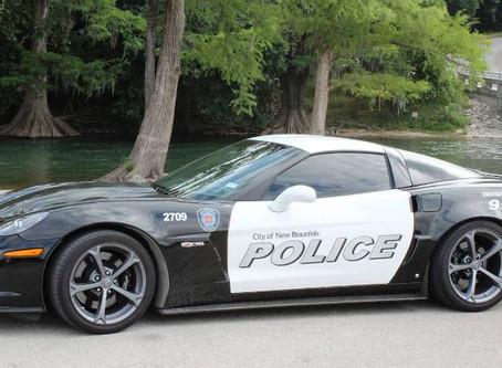 New Braunfels Texas Police Department Adds a Corvette Z06 to Fleet