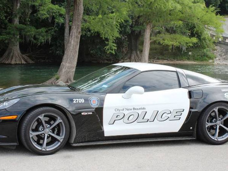 New Braunfels Texas Police Department Adds a Corvette Z06 to Fleet