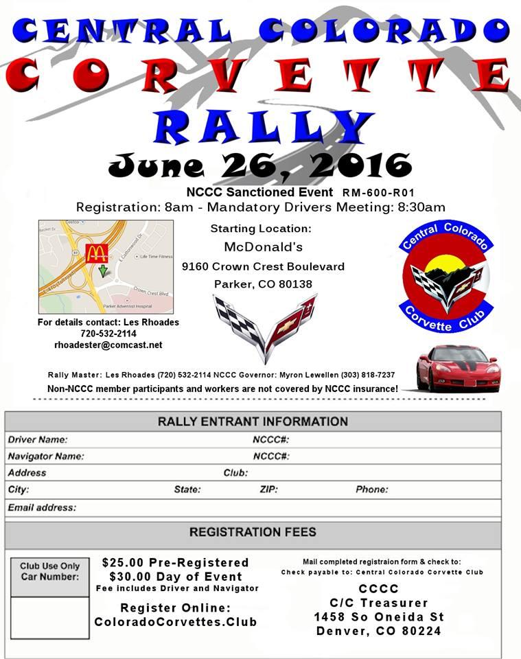 2016 4C Rally Flyer