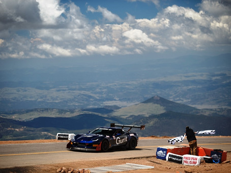 Fastest Corvette Ever to Go Up Pikes Peak