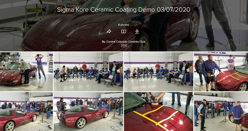 2020 Sigma Kore Ceramic Coating Demo 861