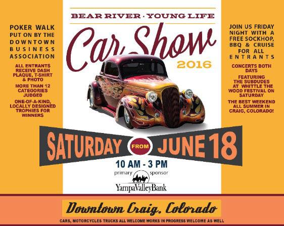 2016 Bear River Young Life Car Show