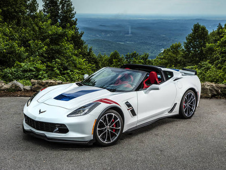 Chevy Corvette Named Most American Car of 2017