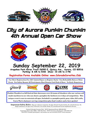 Punkin Chunkin Open Car Show Registration