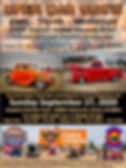 2020 Central Colorado Corvette Club Punkin Chunkin Open Car Show Flyer
