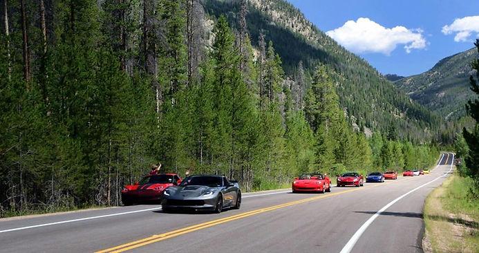 Central Colorado Corvette Club Vettes in the Mountains