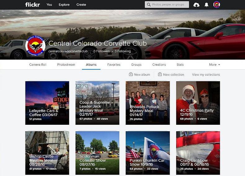 Central Colorado Corvette Club Flickr Page