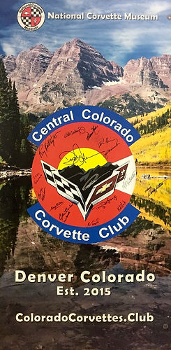 Central Colorado Covette Club NCM Banner