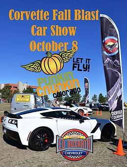 2017 Central Colorado Corvette Club Corvette Fall Bash Show