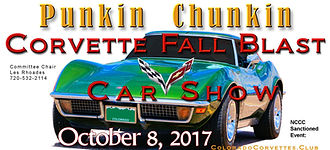 Punkin Chunkin Corvette Fall Blast 2017 Central Colorado Corvette Club