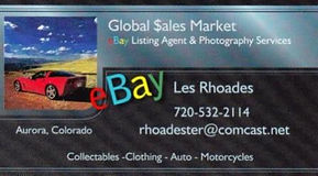 Global Sales Market eBay Store