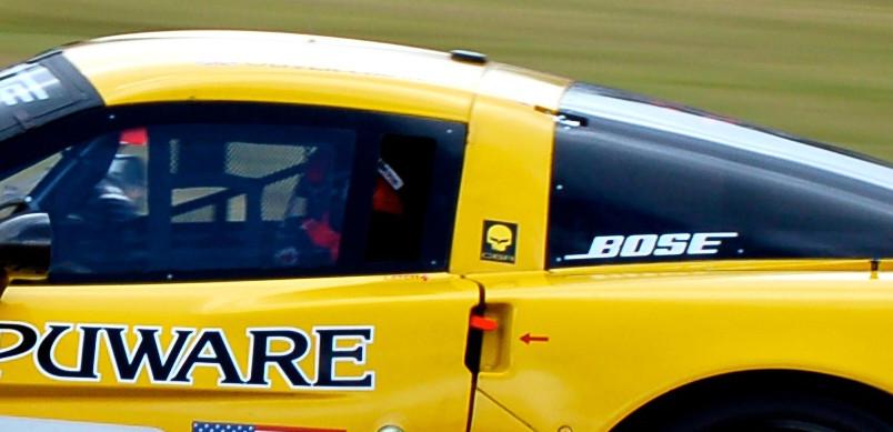 Photo from https://jalopnik.com/5249746/the-history-of-jake-corvette-racings-mascot