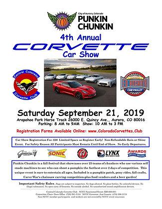 Punkin Chunkin Corvette Car Show Registration