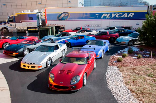 NCM Callaway Corvettes Exhibit photo from NCM website