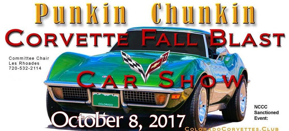 2017 Corvette Fall Blast Punkin Chunkin