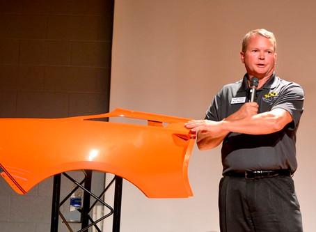 Orange Crush Corvette