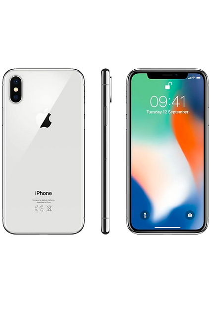 Apple iPhone X 256GB | Silver | Device Only |