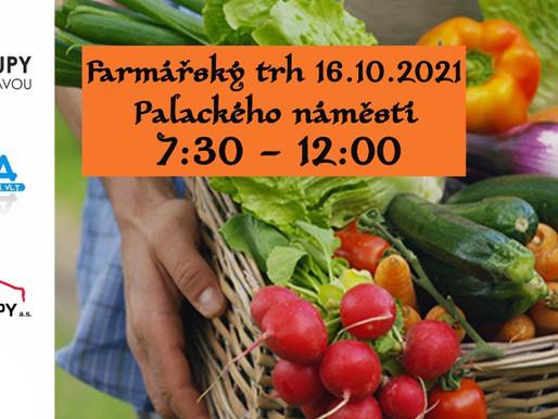 Farmářské trhy na Palackého náměstí