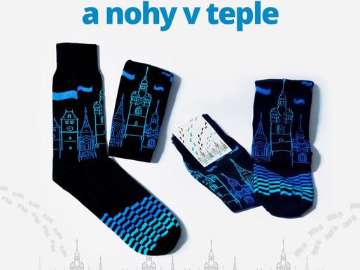 Ponožky s věží a zrušené mělnické trhy