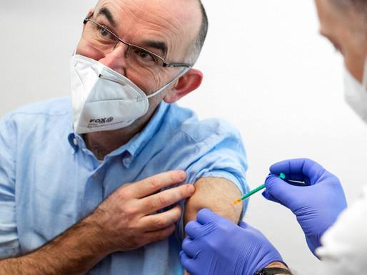 Rezervační systém na očkování proti covid-19 bude spuštěn v polovině ledna