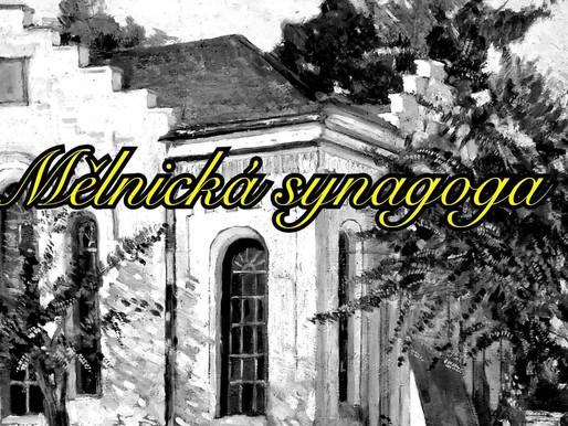 Jaký je příběh obrazu Synagogy na Mělníku? Kde stála synagoga?