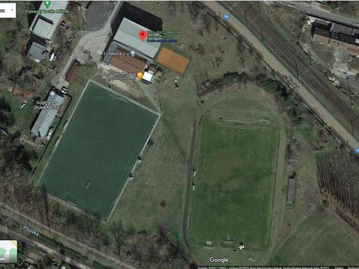 Fotbalový areál u haly Bios dostane nový povrch a hřiště bude posunuto