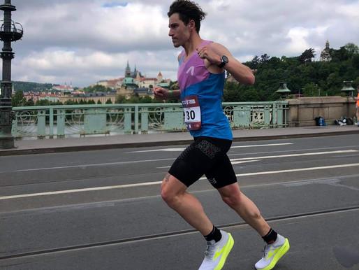 Mistrovství ČR v maratonu 2021 se účastnil i mělnický atlet