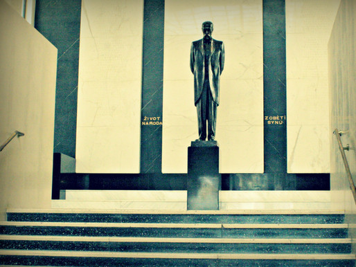 Osudy sochy Tomáše Garrigue Masaryka v kulturním domě