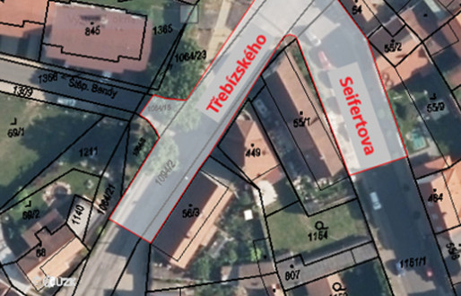 Upozornění na uzavírky! Od 14. 6. budou uzavřeny ulice Třebízského, Seifertova a Š. Bendy