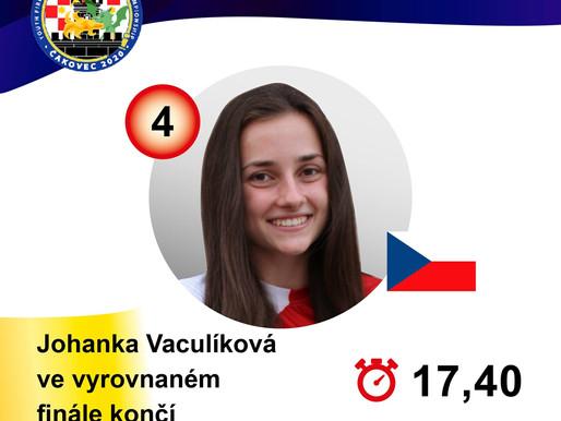 Na Mistrovství světa dorostenců v požárním sportu získaly Češky zlato