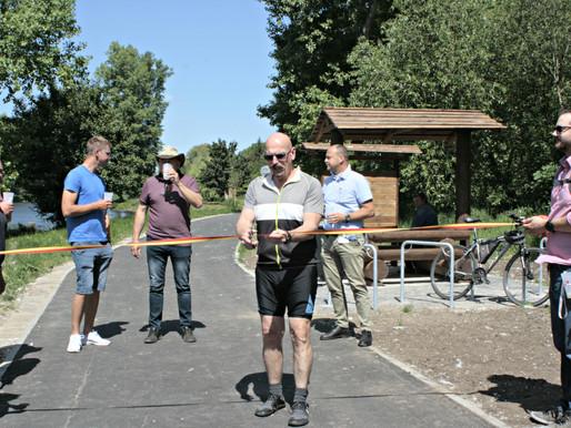 Mělník vloni vybudoval cyklostezky a cyklotrasy na území města