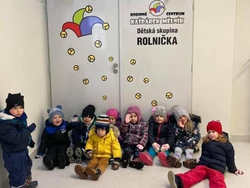 Dětská skupina Rolnička otvírá dveře dětem k zápisu na rok 2021/2022