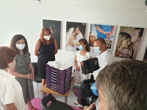 Novorozence v Nemocnici Mělník bude hlídat 10 nových monitorů dechu