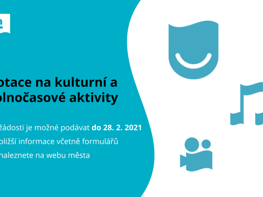 Dotace na kulturní a volnočasové aktivity v roce 2021