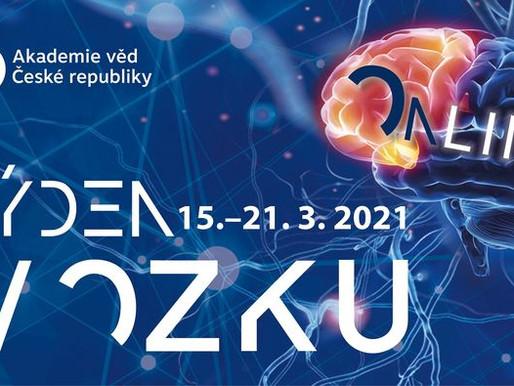 Evropský den mozku je úvodem do Týdne mozku