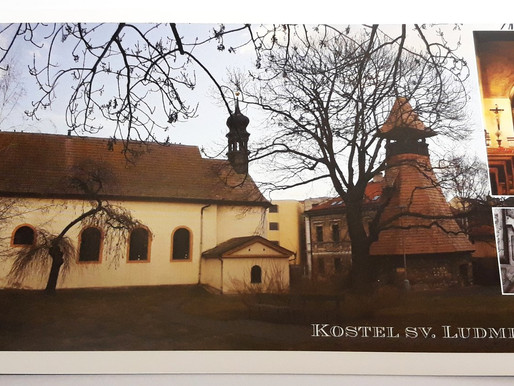 Svatou Ludmilu připomínají i pohlednice vydané spolkem