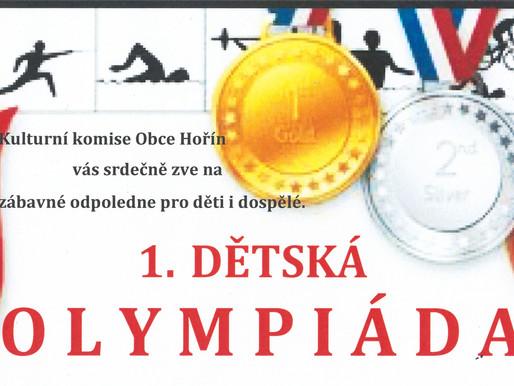 Olympijské medaile pro děti jsou již připraveny