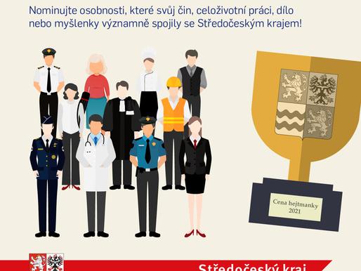 Nominujte výrazné osobnosti svého regionu na Cenu hejtmanky Středočeského kraje
