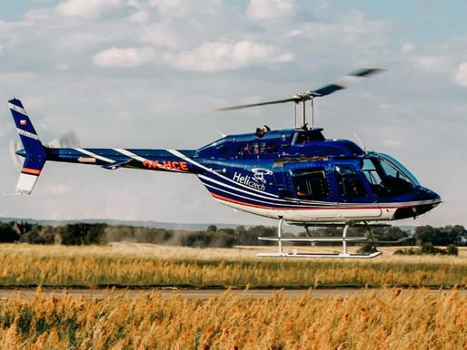 S vrtulníkem nad Kralupy nad Vltavou a okolí