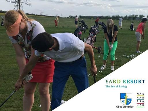 Den otevřeného hřiště bude patřit golfu
