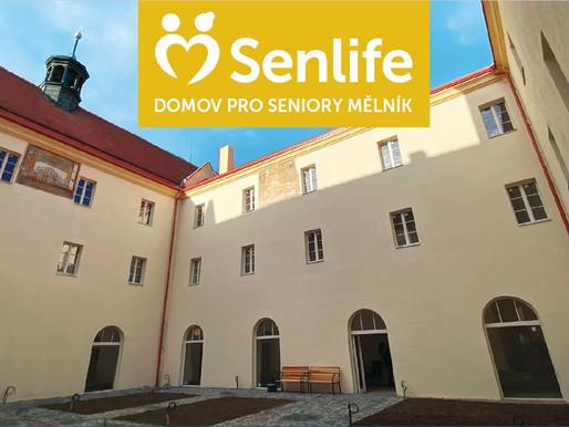 Domov Seniorů Senlife Mělník otevírá již v srpnu