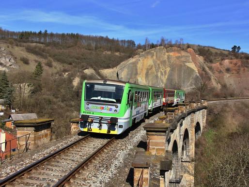 V sobotu vyjely opět rekreační vlaky a mezi nimi i Cyklohráček