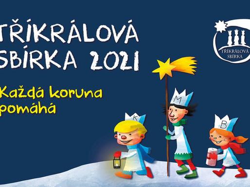 Charita Kralupy nad Vltavou: Tříkrálová sbírka 2021