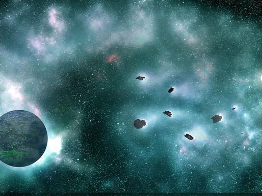 Čtení na pokračování 4. díl: Asteroid VAAZ-EK 2911 právě vstupuje do zemské atmosféry