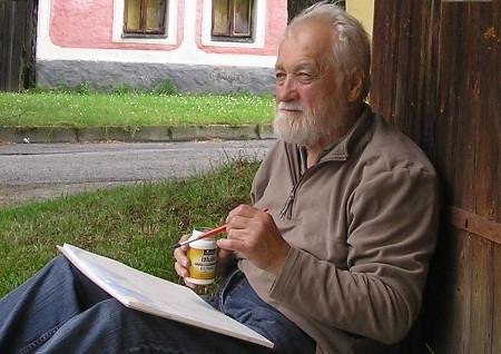Vladimír Veselý a jeho žáci Ve Věži