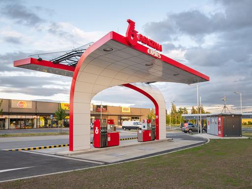 Benzina ORLEN modernizuje svůj koncept samoobslužných stanic. První novou stanici otevřela v Unhošti