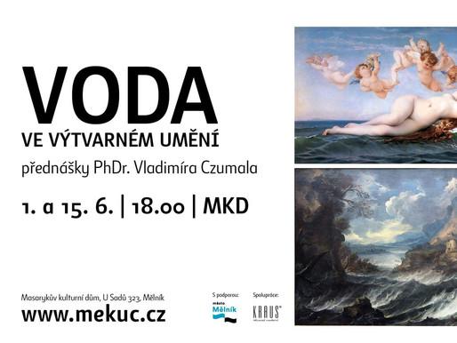 Přednášky Voda ve výtvarném umění se uskuteční v červnu