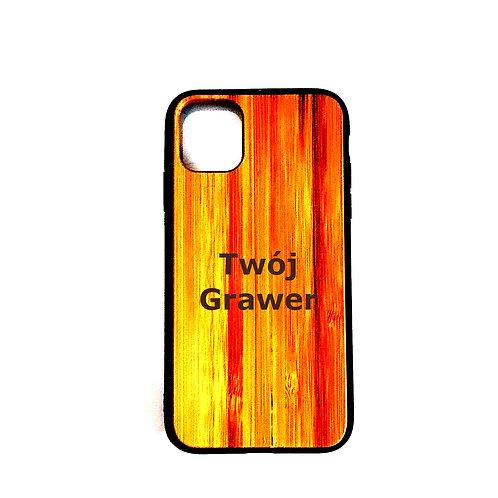 Etui Na iphone 11 Bambus Grawer Prezent