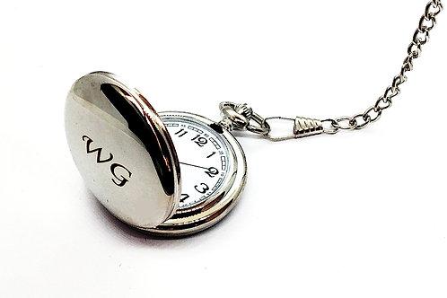 Zegarek Srebrny Z Grawerem Prezent