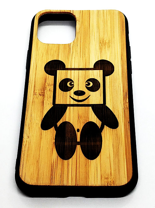 Etui Na iphone 11 Pro Bambus Grawer Panda